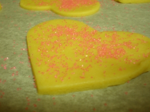 pink sugar cookie