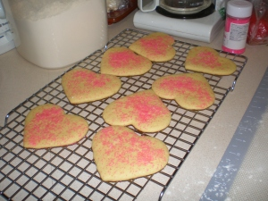 cooling sugar cookies