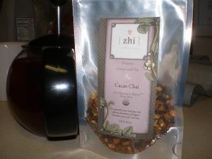 cacao chai zhi tea
